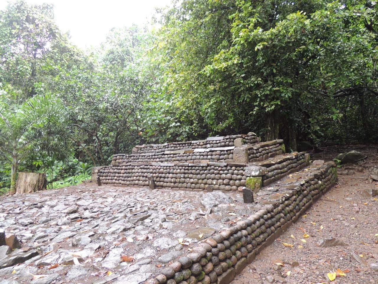 Tahitian Ceremony Ruins