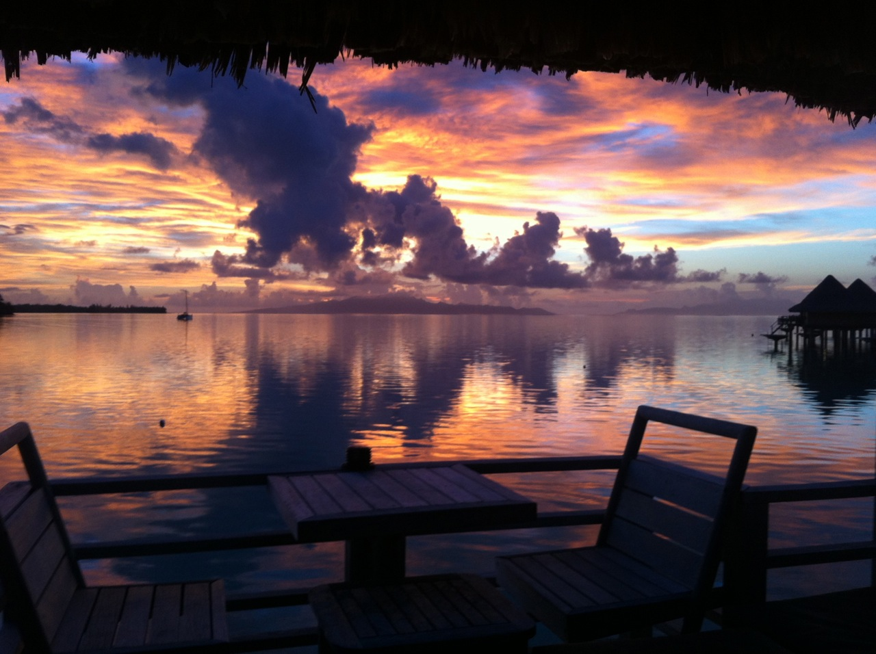 Magnificent Bora Bora Sunrise