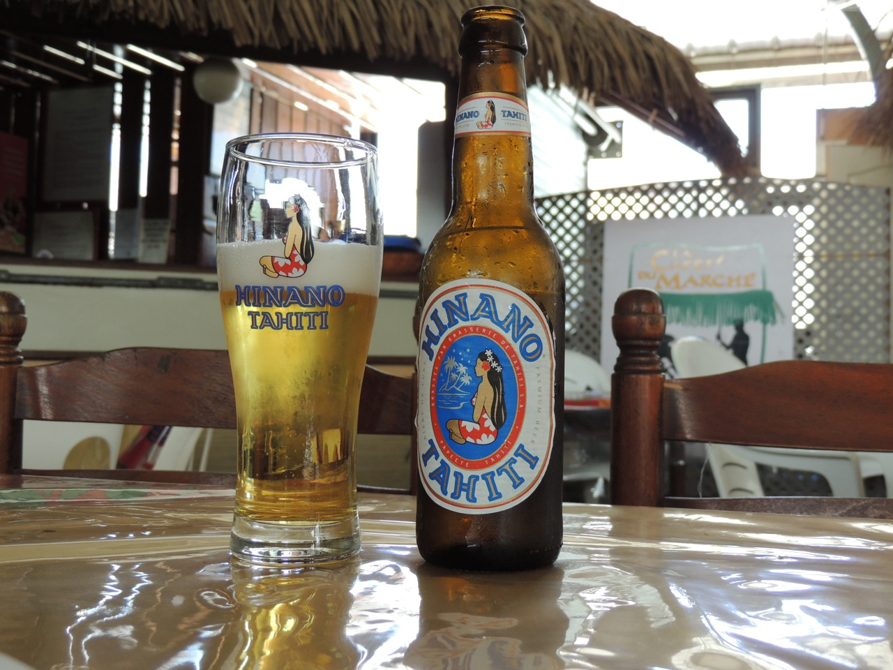 Local Tahitian Beer… Go to beer for the trip