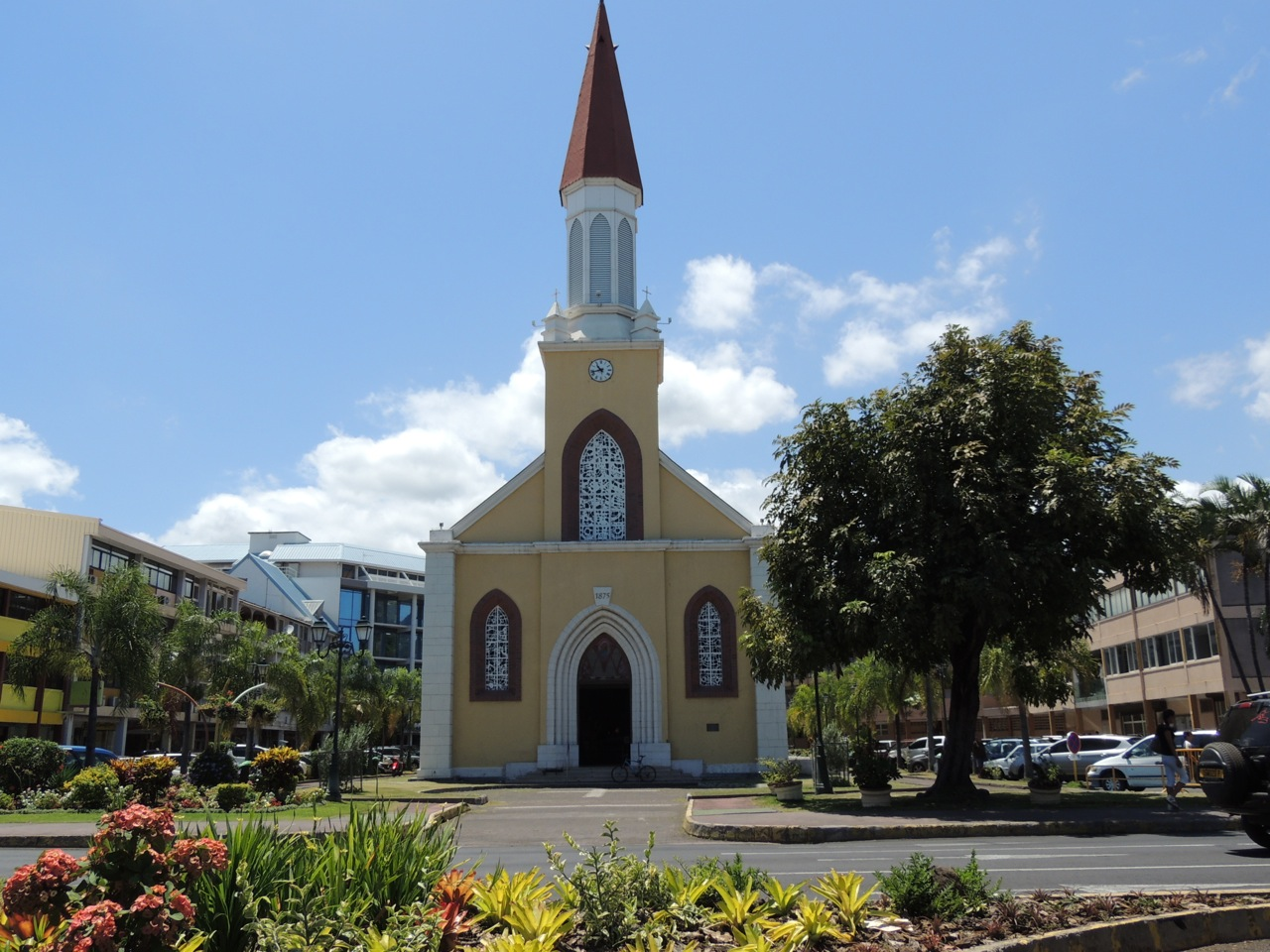 Papeete Catherdral - Notre Dame
